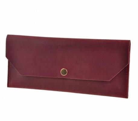 Клатч-конверт кожаный Виноград