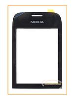Сенсор (тачскрин) Nokia Asha 202 Black