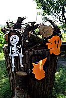 Сумка-мешок ( для сладостей ) /Оранжевая ведьма Хэллоуин