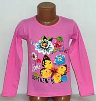 """Кофта на девочку """" Бабочка"""" 4 года  100% хлопок.Детская одежда оптом"""