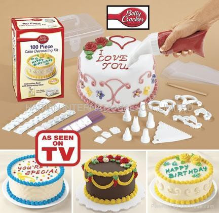 Набор для украшения торта 100 PIECE CAKE DECORATING KIT - Wellamart в Киеве