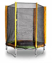 Батут KIDIGO™ 140 см. с защитной сеткой