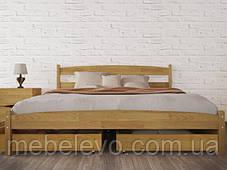 Кровать полуторная Лика без изножья 140 Олимп, фото 3