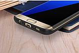 Карбоновий чохол-накладка Nillkin Synthetic Fiber для Samsung S7 Edge (G935F), фото 7
