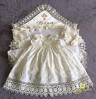 """Платье для крещения """"Лагрейн"""", фото 1"""