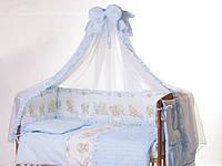 Детский постельный комплект Qvatro Lux (8 элем.)