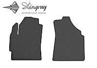 Chery QQ  2003- Комплект из 2-х ковриков Черный в салон. Доставка по всей Украине. Оплата при получении