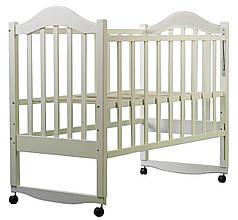 Детская кроватка Дина (слоновая кость)