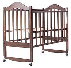 Детская кроватка Дина (венге)