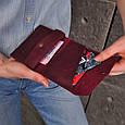 Кошелек мини кожаный 2.0 Виноград, фото 8