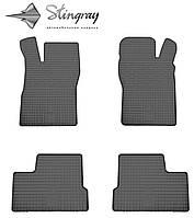 Daewoo Nexia  2008- Комплект из 4-х ковриков Черный в салон. Доставка по всей Украине. Оплата при получении