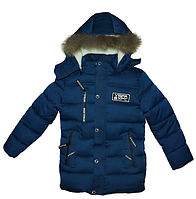 Куртка зимняя подростковая для мальчика,р.140-164