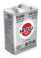 Масло моторное MITASU 5W-30 Euro Diesel LL 4лит