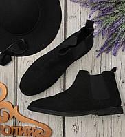 Мужские ботинки челси Asos из матовой натуральной замши  SH3515