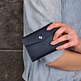 Кошелек мини кожаный 2.0 Ночное небо, фото 7