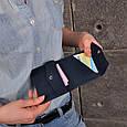 Кошелек мини кожаный 2.0 Ночное небо, фото 8