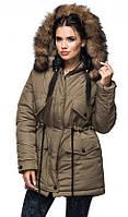 Куртка-парка зимняя с капюшоном ( р. 44-56)