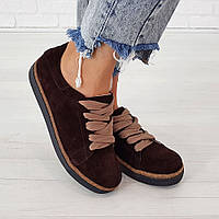 Кеды Woman's heel коричневые (О-804), фото 1
