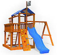Детская площадка для детей для улицы как домик Беби land-5