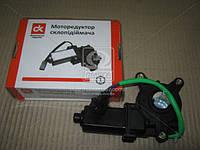 Моторедуктор стеклоподъемника DAEWOO LANOS прав. (треугольник) 12В, 30Вт <ДК>