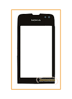 Сенсор (тачскрин) Nokia Asha 311 Black Original