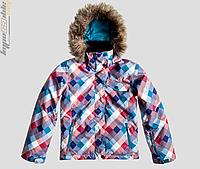 Подростковая горнолыжная куртка Roxy Jet SKI Girls' Snowboarding Jacket MPB3-B ROSE MUTLIPLD
