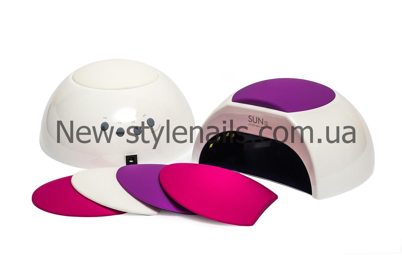 Лампа для сушки ногтей SUN 2 LED+UV 48W