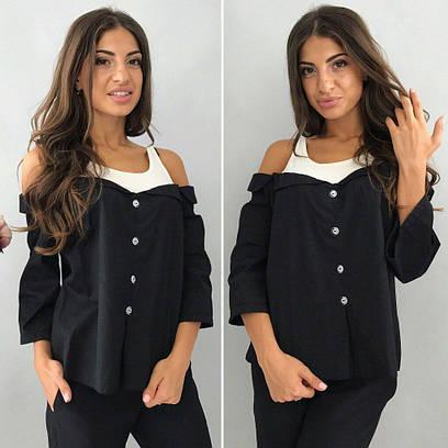 Женская рубашка №142-1175