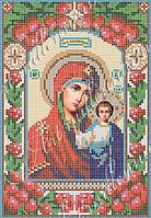 """Схема для вишивки бісером ікони """"Казанська ікона Божої Матері"""" (вінчальна пара)"""