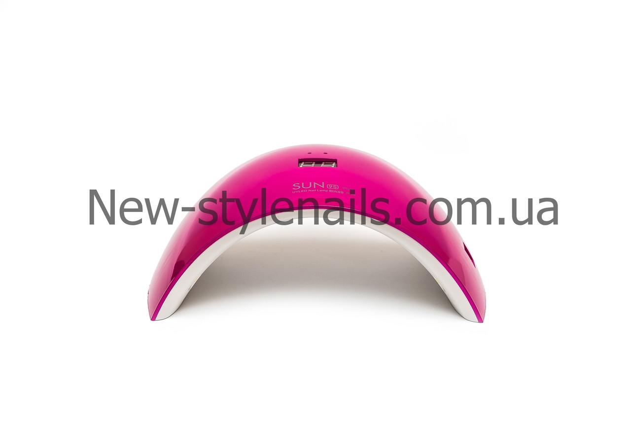 Лампа  для ногтей Sun 9s UV LED, 24W с дисплеем,цвета в ассортименте