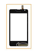 Сенсор (тачскрин) Nokia Lumia 430 Black Original
