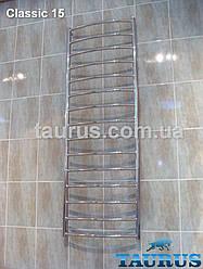 Высокий полотенцесушитель из нержавеющей стали Classic 15 /1550x500 мм. Водяной, электро и комбинированный.