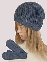Комплект WK-563 шапка варежки