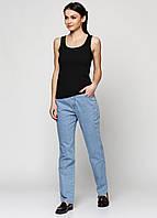 Светлые джинсы Amber светло-синего цвета 2017