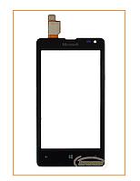 Сенсор (тачскрин) Nokia Lumia 435 Dual Sim, 532 DS (Microsoft) Black