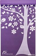 Дизайнерський килимок для йоги ProSource Tree of Life Yoga Mat 183x61x0.5 см Блакитний