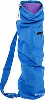 Сумка для килимка ProSource Yoga Mat Bag with Side Pocket Блакитна