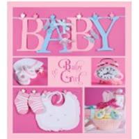 Детский фотоальбом анкета evg 10x15x56 bkm4656 baby collage pink на украинском