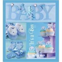 Альбом evg 10x15x56 bkm4656 baby collage blue