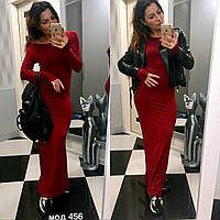 Женское стильное длинное  платье новинка 2017 опт и розница 7км
