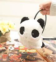 Теплые наушники-панды...