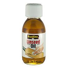 Лляне масло чисте Rustins Raw Linseed Oil
