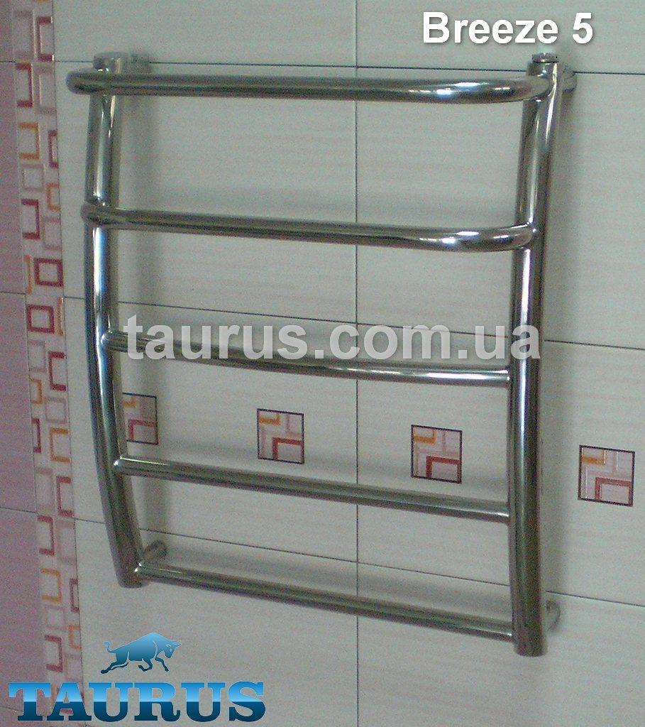 Breeze 5-2/500 - полотенцесушитель из нержавеющей стали.