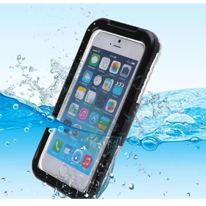 Подводный чехол аквабокс PRIMO для Apple iPhone 4 / 5 / 5s / SE - Black