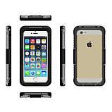 Підводний чохол аквабокс PRIMO для Apple iPhone 4 / 5 / 5s / SE - Black, фото 2