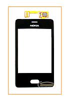 Сенсор (тачскрин)  Nokia Asha 501 Black Original