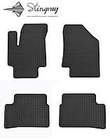 Kia Rio II 2005-2011 Задний правый коврик Черный в салон. Доставка по всей Украине. Оплата при получении