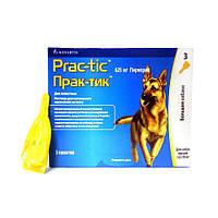 Прак-тик собак.22-50 кг. 1 пипетка (№3) Novartis