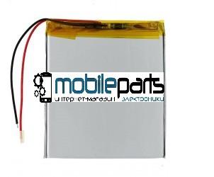 Универсальный Внутренний Аккумулятор АКБ 3060120P   3567110P 110*57*3, 2 pin ( Li-ion 3.7V 4000mAh)