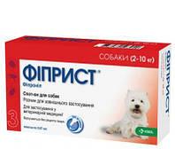 Фиприст Комбо собак.От 2 до 10 кг/ 0,67мл  1 пип №3 KRKA